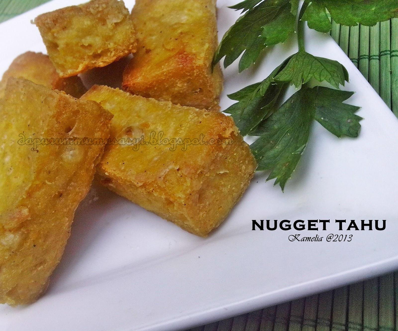 Nugget Ayam Tahu: Cozy Kitchen : Nugget Tahu ' Minimalis ' ( PR DA, April 2013