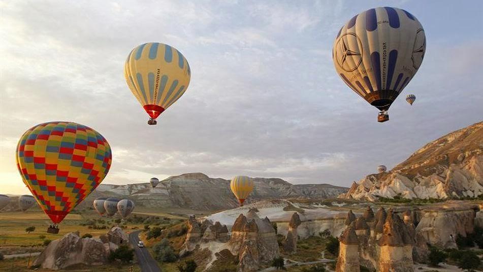 Llegada a capadocia g reme y u hisar el viajador for Oficina turismo turquia