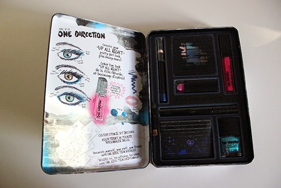 Up All Night One Direction Make Up Tin