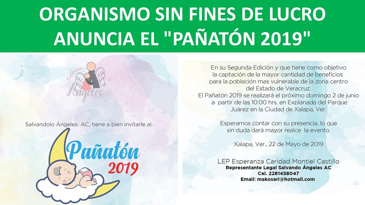 """""""PAÑATÓN 2019"""""""