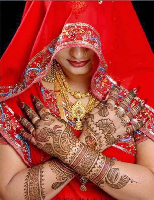 Mehndi Bridal Henna : Beautiful latest simple arabic pakistani indian bridal