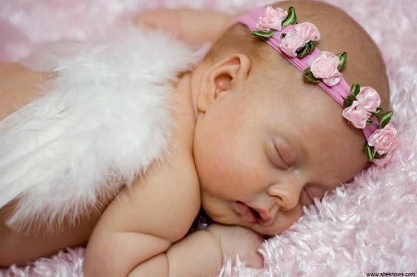Adorable image bébé ange