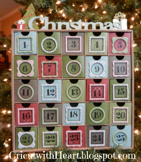 Cricut with Heart: Advent Calendar from CTMH