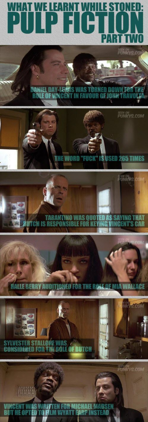 Curiosidades sobre Pulp Fiction (Segunda Parte)