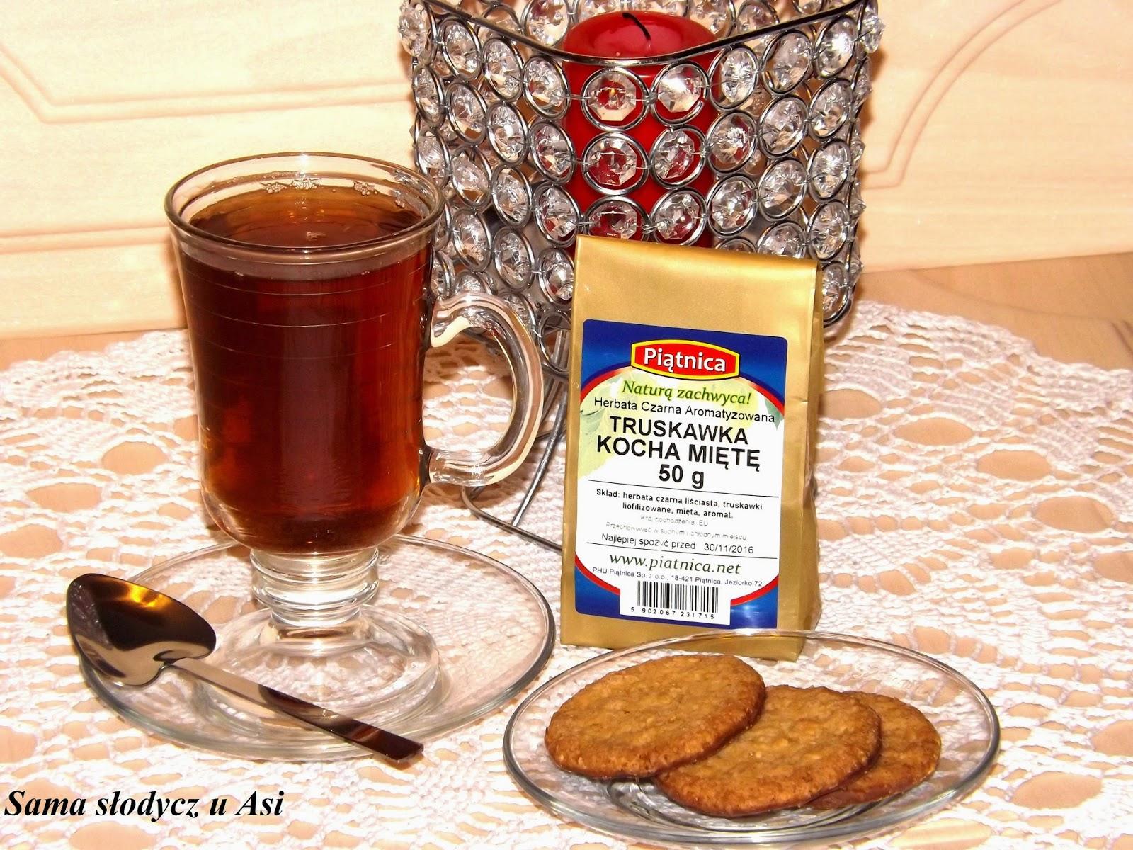 Herbatka Piątnica Truskawka Kocha Miętę