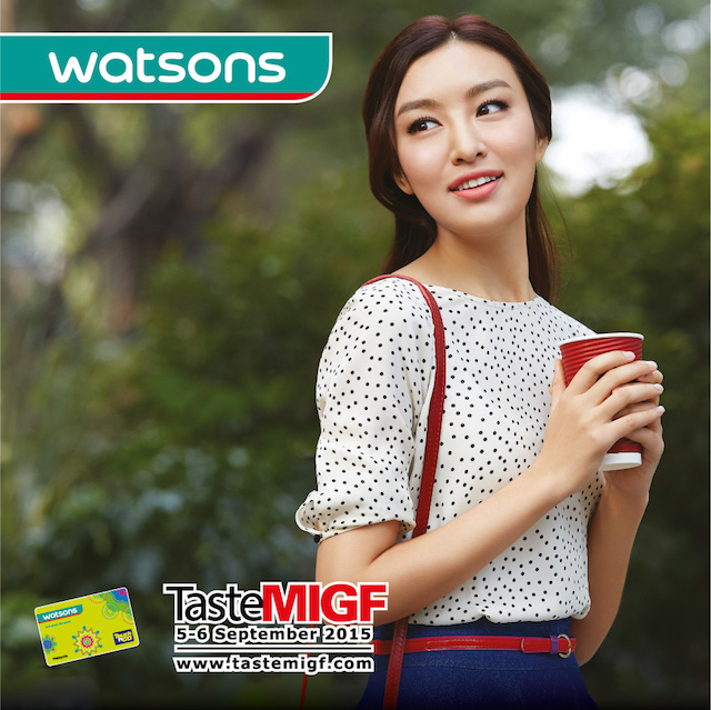 Watsons Participates in Malaysia International Gourmet Festival (MIGF) 2015