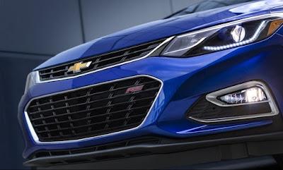 Chevrolet Cruze 2016 thay đổi từ trong ra ngoài