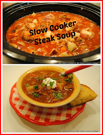 Slow Cooker Steak Soup