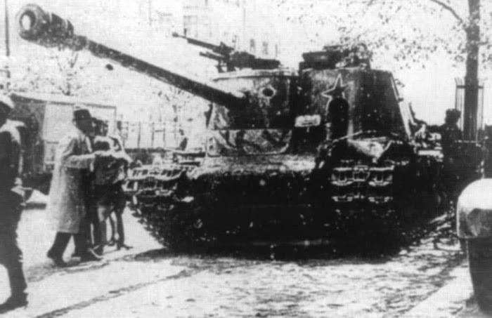 Вторая мировая война сау ису 122