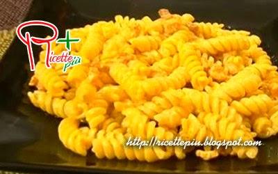 Pasta Pancetta e Zafferano di Cotto e Mangiato