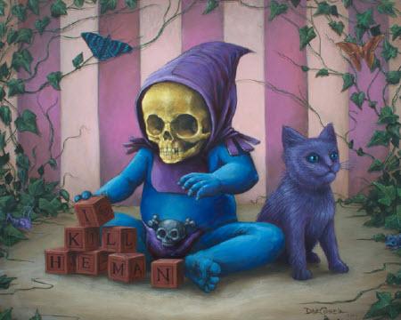 Baby Skeletor... Solo jugando.
