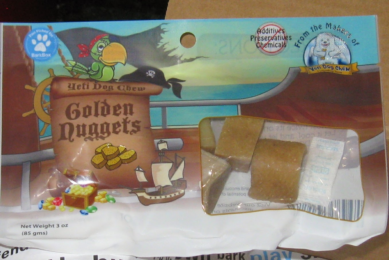 Golden Nuggets treats