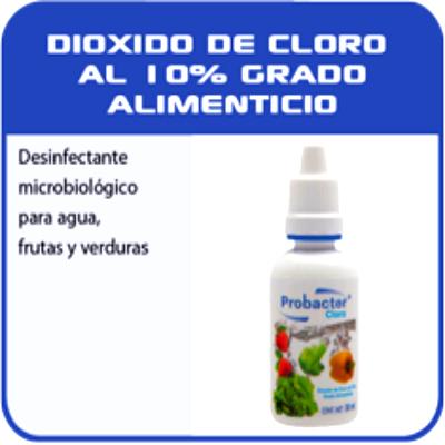 Dioxido de cloro estabilizado