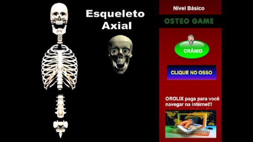 Osteo Games - Jogo de memorização dos ossos!