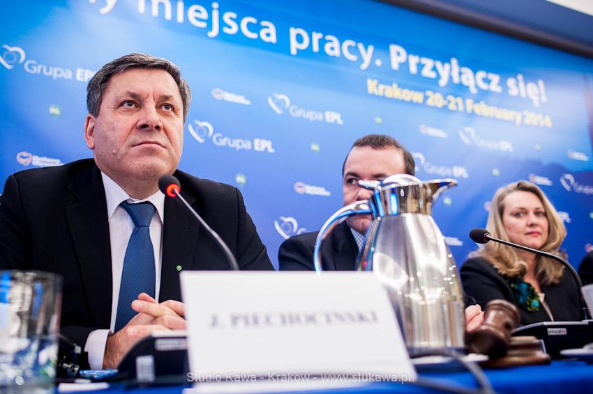 Konferencja EPP/EPL w Krakowie. Event, obsluga fotograficzna, nz. Janusz Piechociński, wicepremier