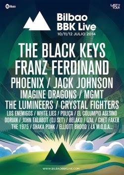 Foster The People, Vetusta Morla y John Newman al Bilbao BBK Live Festival
