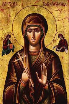 Bucura-te Sfanta Parascheva, mireasa duhovnicesca !