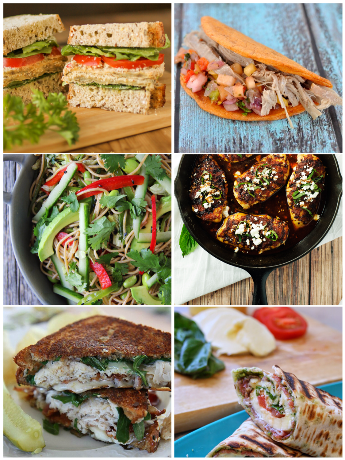 6 Sensational Lunch Ideas from #tastytuesdays at anyonita-nibbles.co.uk