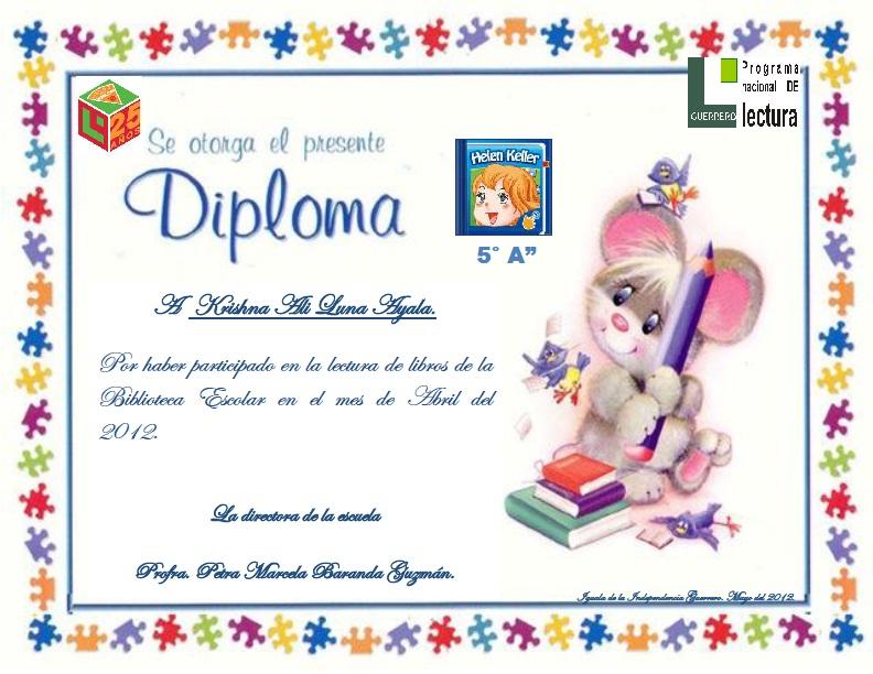 Los reconocimientos se entregaron el dìa lunes 7 de mayo del 2012