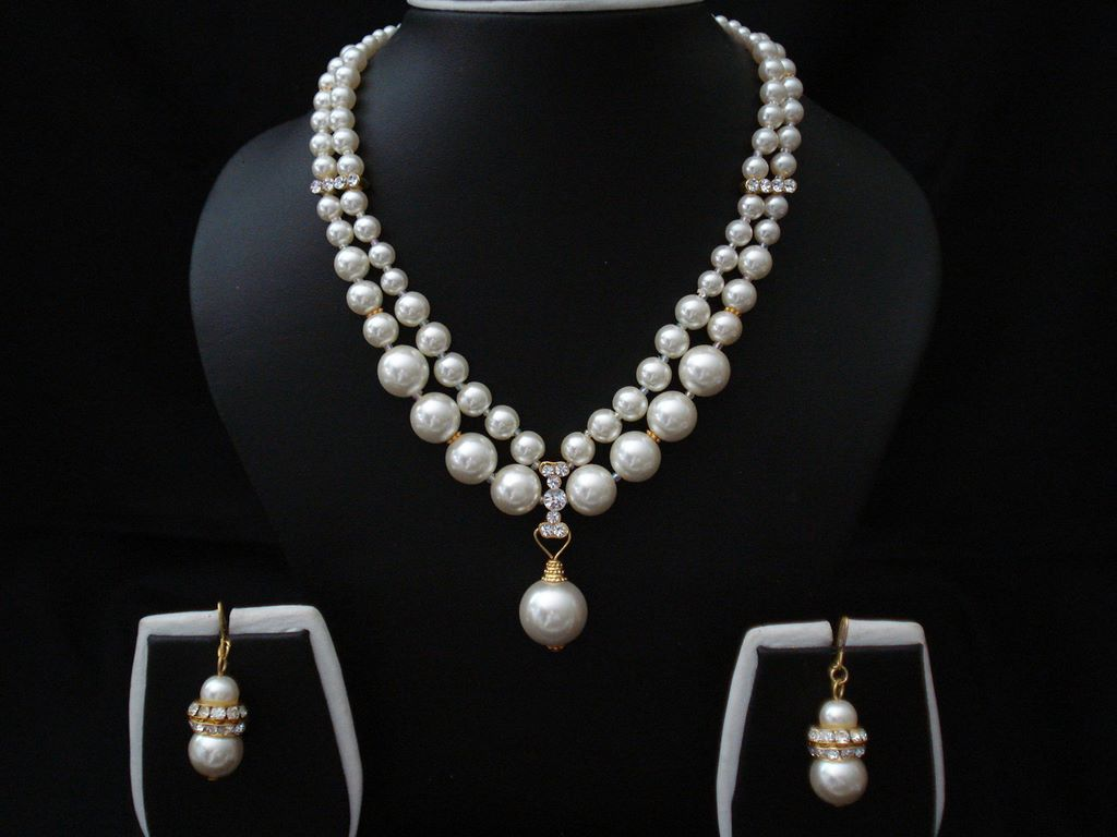 white pearl jewelry colorful jewelry and fashion