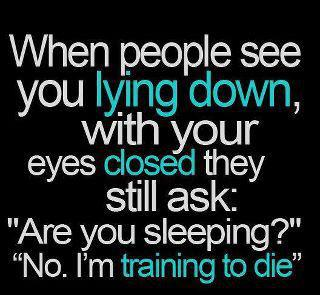 When People See You Lying Down