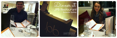 JPB Restaurant Review Swissotel Sydney - Gluten Free Healthy Allergy Friendly