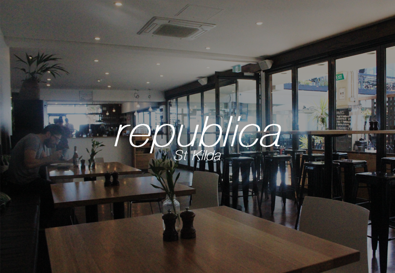 Republica (St Kilda) - Melbourne's Restaurants