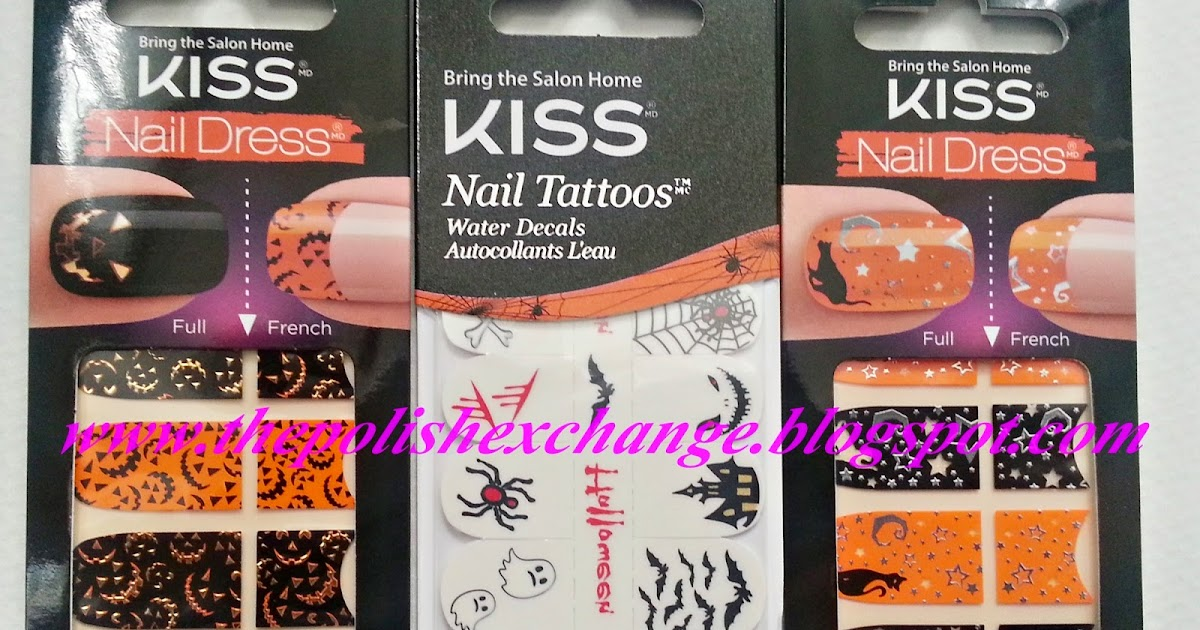 nails get spooky this halloween w kiss nails broadway nails the nail polish exchange