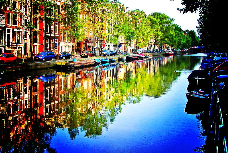 city of canals, Amsterdam