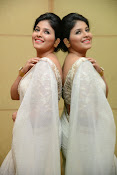 Anjali Glamorous Photos in saree at Geethanjali event-thumbnail-3