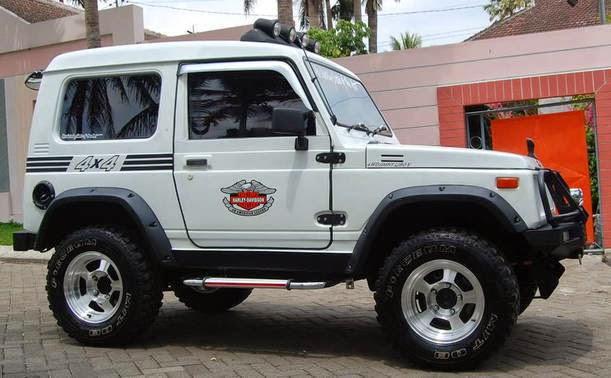 Suzuki Jimny Katana putih