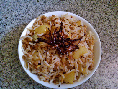 Soya Granules Pulao