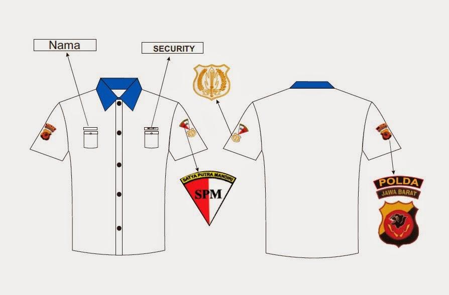 Baju seragam kantor