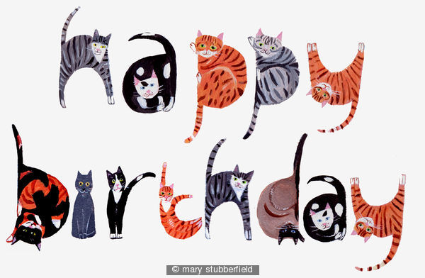 Similiar Happy Birthday From The Cat Keywords – Happy Birthday from the Cat Card