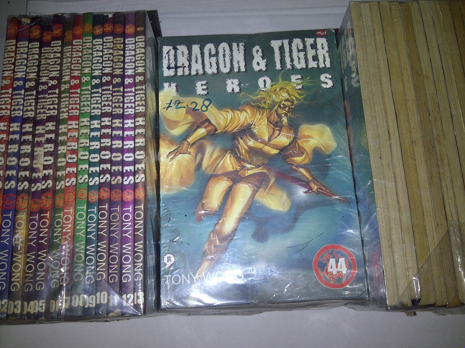 Dragon & Tiger Heroes 1 - 44, X Rental (Tony Wong) @9,500 - 418,000