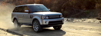 2013 Land Rover Range Rover Sport dirt road