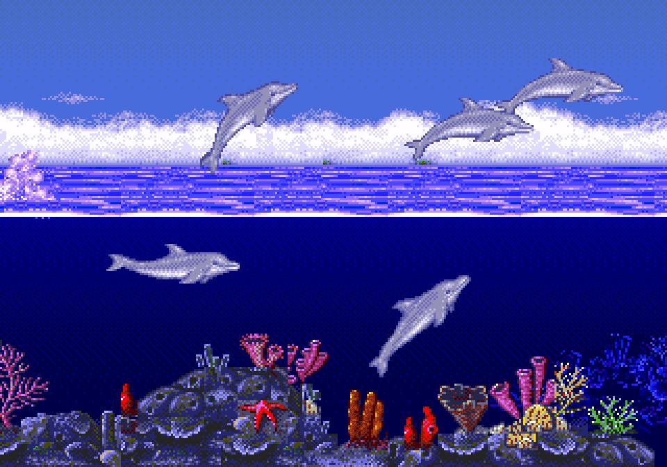 fantasy kingdom videojuegos ecco the dolphin ingles. Black Bedroom Furniture Sets. Home Design Ideas