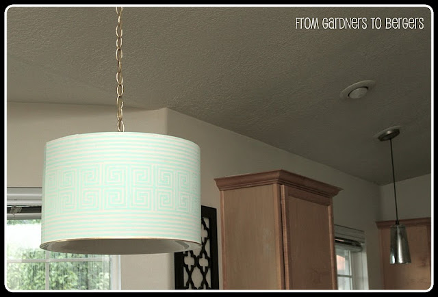 Two Tutorials To Make Your Own Drum Shade, A Printable To Grab. Two  Homemade Light Fixtures For You Guys To Check Out And {hopefully} Some DIY  Inspiration!