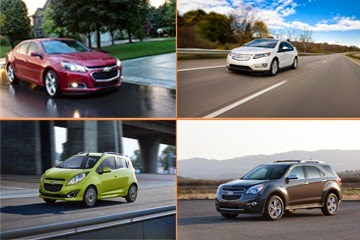 Four 2015 Chevrolet Vehicles are IIHS Top Safety Picks