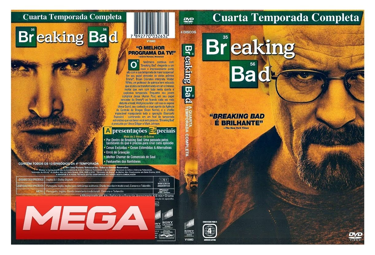 BREAKING BAD DESCARGAR TEMPORADA 4 MEGA LATINO | NUBE DESCARGA ...