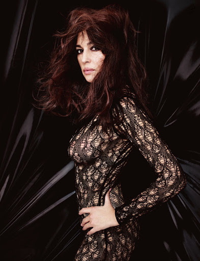 Monica Bellucci topless photo shoot for Lui Magazine November 2015