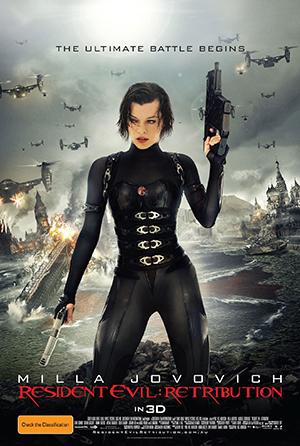 Poster Resident Evil: Retribution 2012