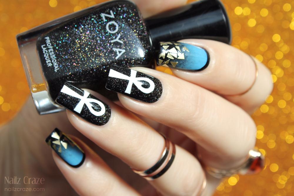 Katy Perry Dark Horse Inspired Makeup & Nail Art - Nailz Craze