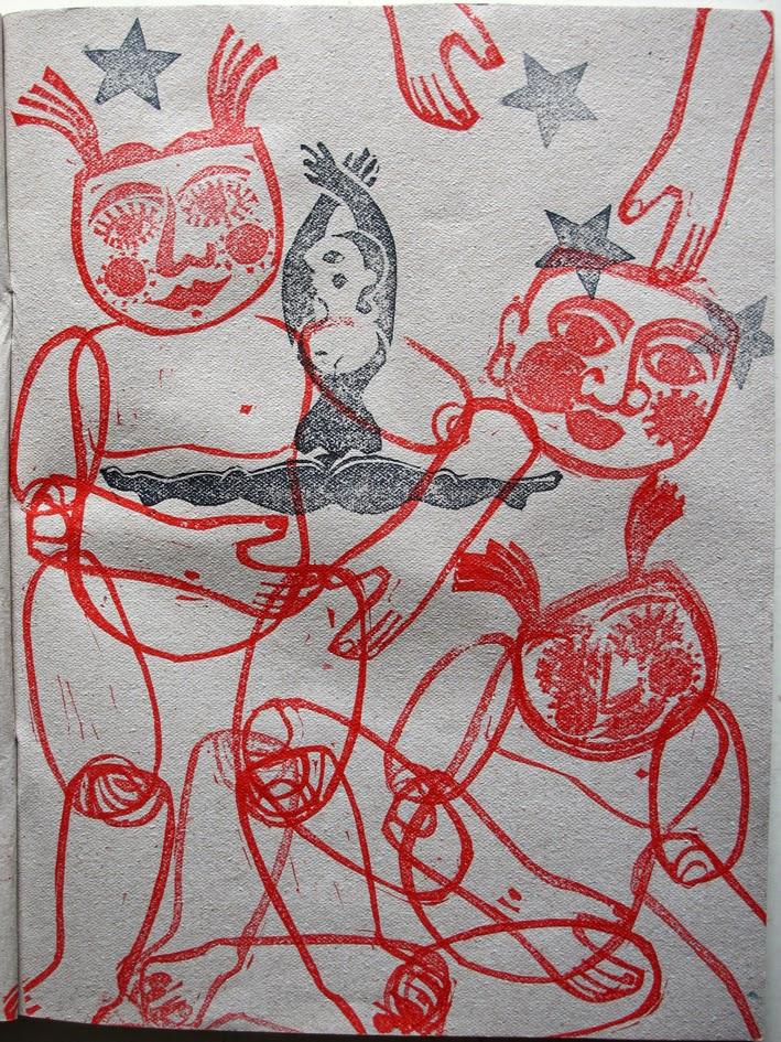 jeu tampographique, Brigitte Rio, combinatoire