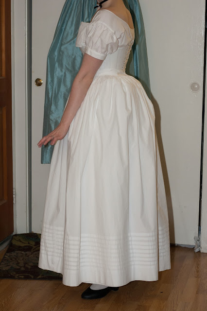 tucked petticoat side