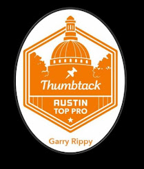 "Recognized as an ""Austin Top Pro"" by Thumbtack!"