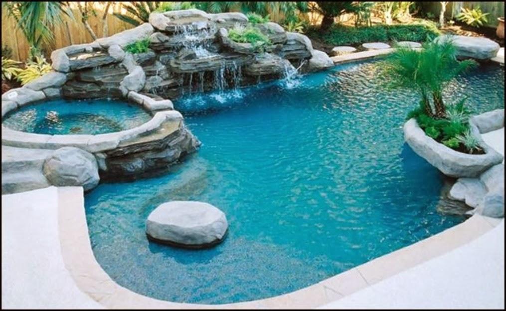 Piscinas veja 30 modelos e dicas para decorar sua rea for Best house with swimming pool