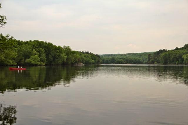 open, flowing St. Croix River