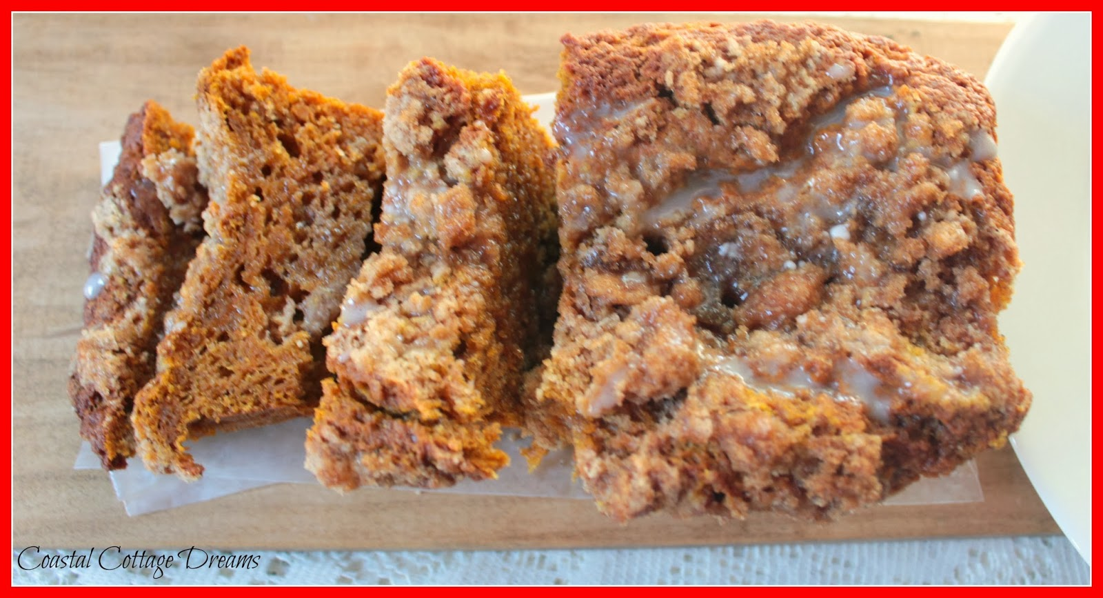... Smiles: Pumpkin Coffee Cake with Brown Sugar Pecan Streusel Topping