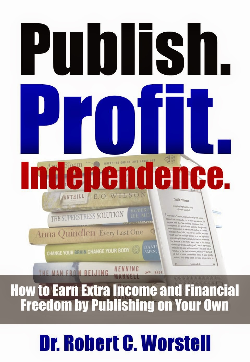 Home pubilshing business guide - earn extra income and financial freedom by publishing on your own.